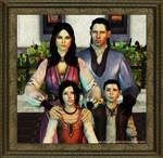 Dragon Age II: Family Portrait (Beth x Nate)
