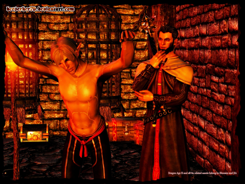 Dragon Age Ii A Little Wolf For Danarius By Berserker79 On Deviantart