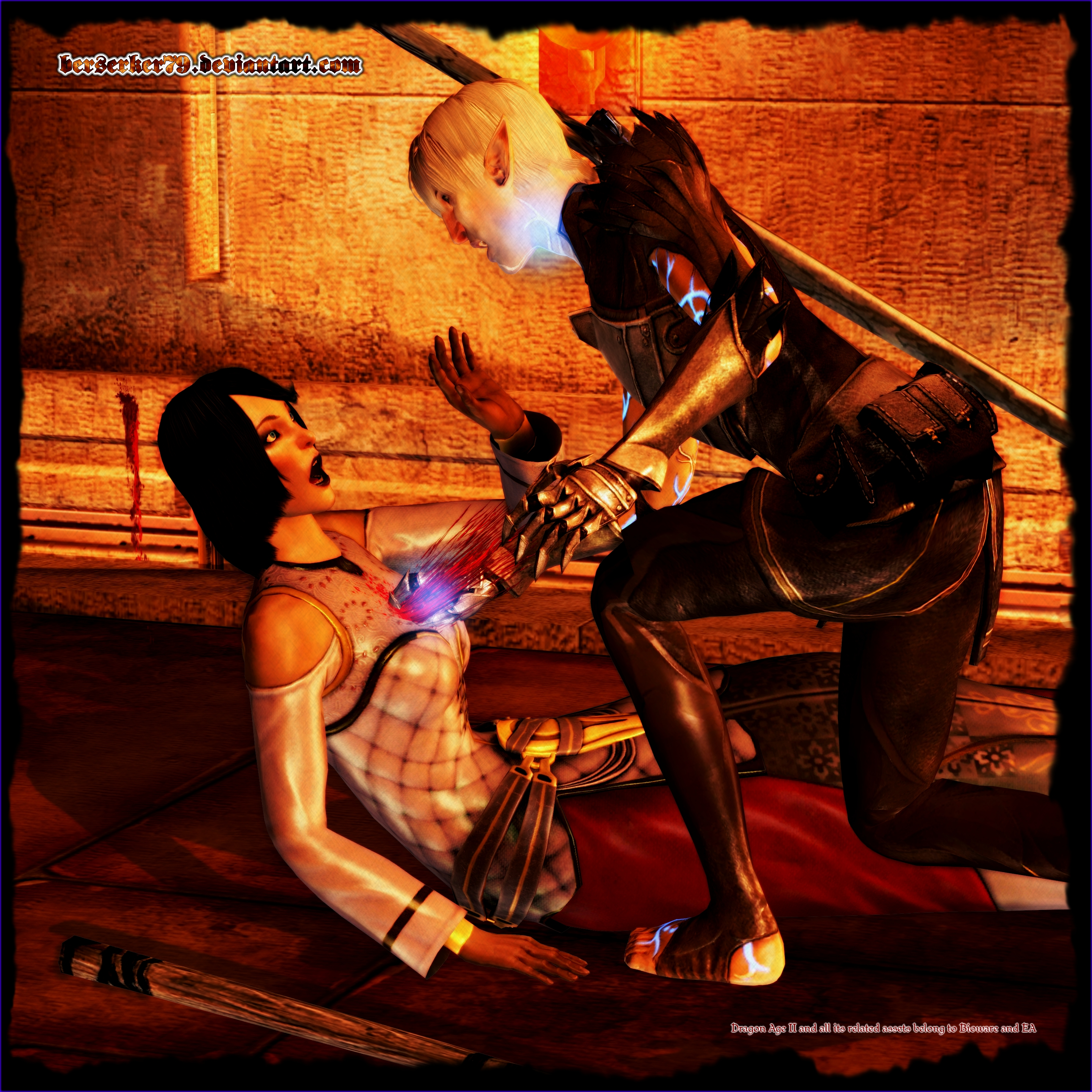 Dragon Age II: Rip The Heart Out Of Me by Berserker79