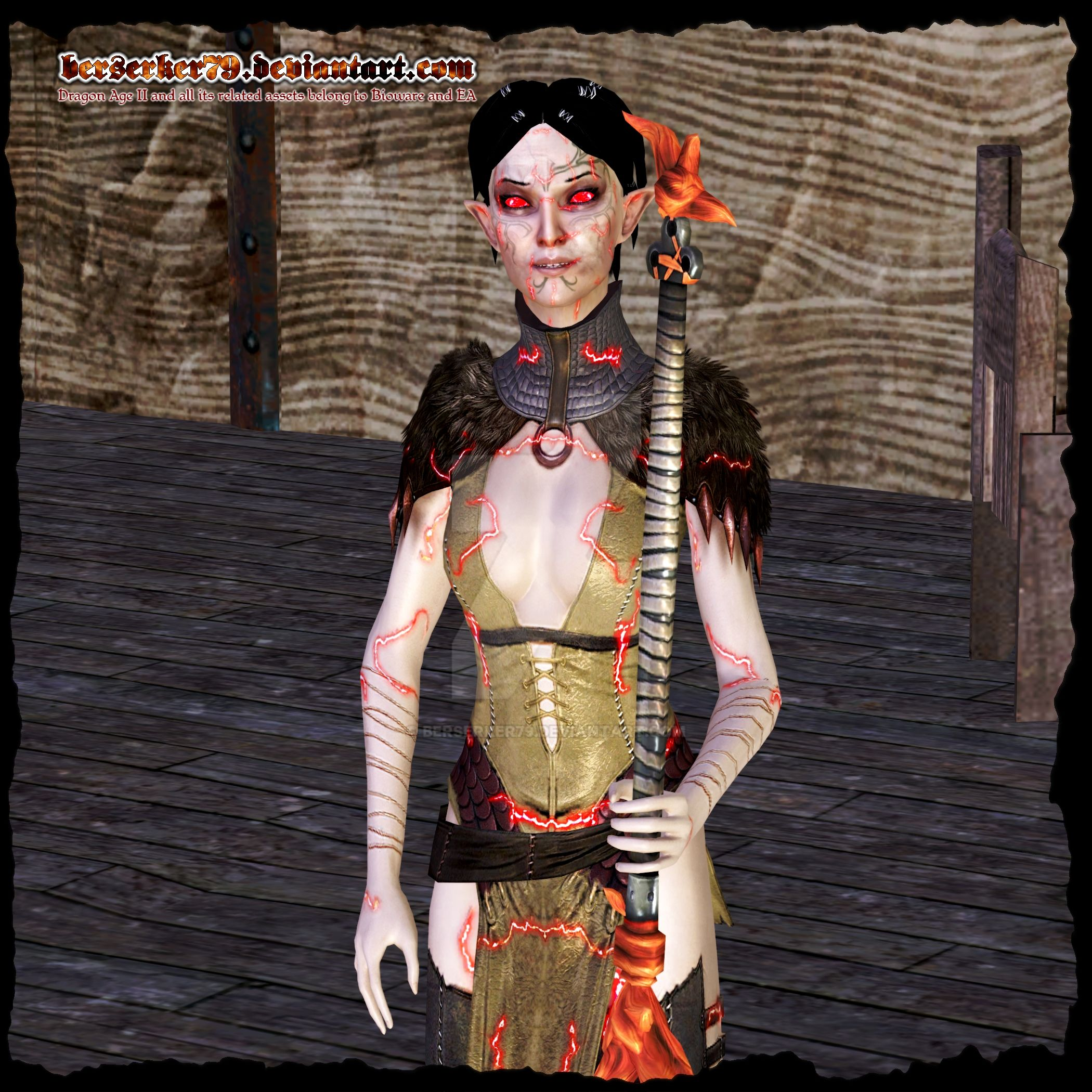 Dragon Age II: Merrill is an Abomination by Berserker79
