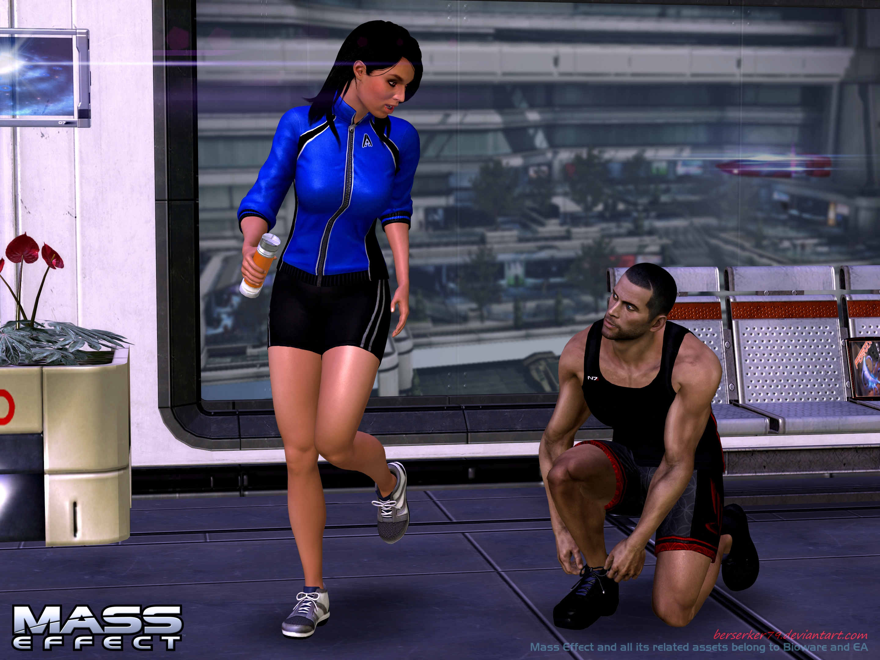 Mass Effect - RandR series: Jogging by Berserker79