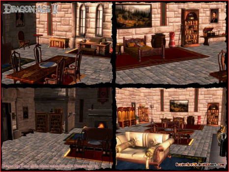 DA - Eleanor Trevelyan's Ostwick Circle Quarters