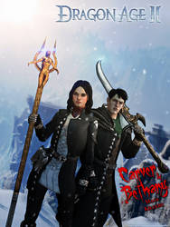 Dragon Age II: Carver and Bethany MageKillers