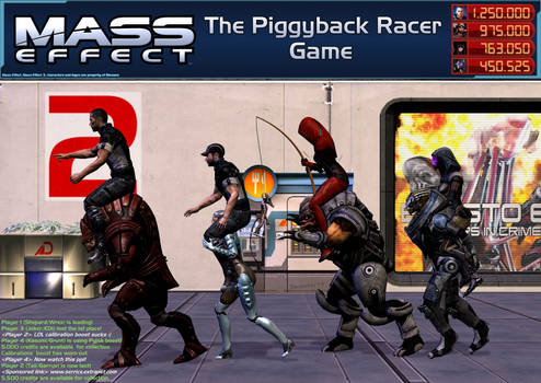 Mass Effect: The Piggyback Racer Game