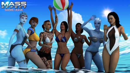Mass Effect: Shore Leave - Shining Stars