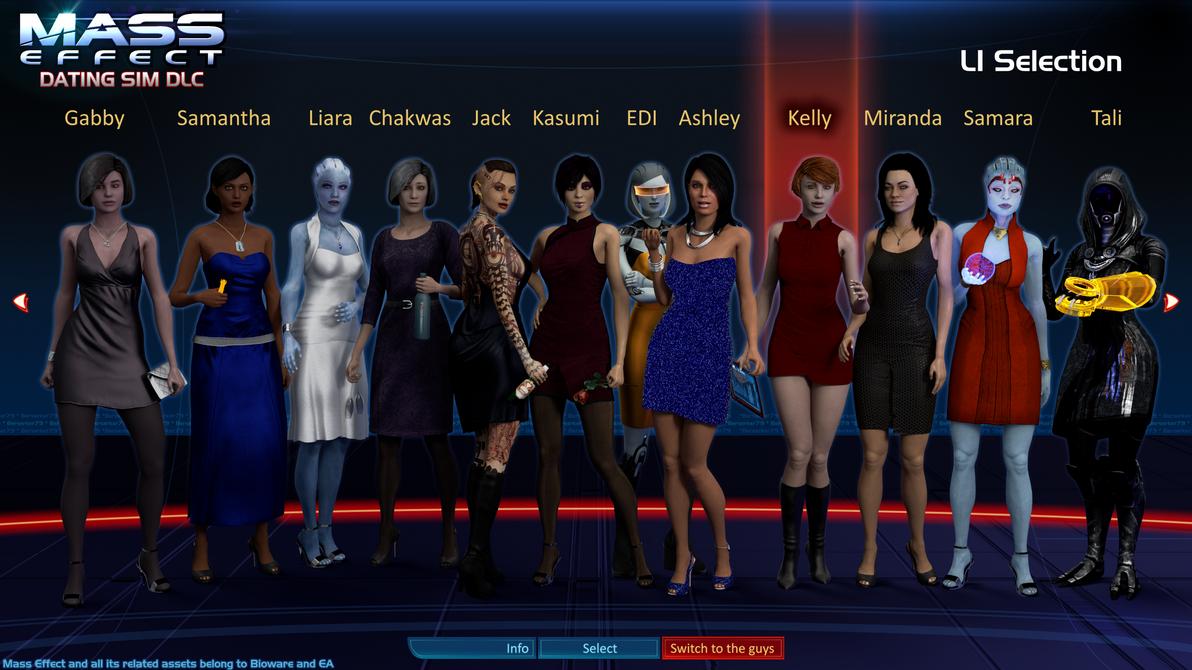 Mass Effect: The Dating Sim DLC (Ladies)