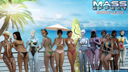 Mass Effect Shore Leave: Girls Just Wanna Have Fun