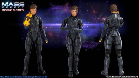 Mass Effect Rogue Biotics - Sonja Hock (OC)
