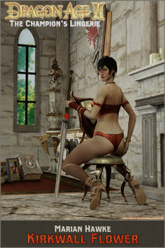 Dragon Age 2: Marian Hawke 'Kirkwall Flower'