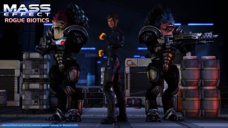 ME: Rogue Biotics - Chapter 6 scene: Vault Defense