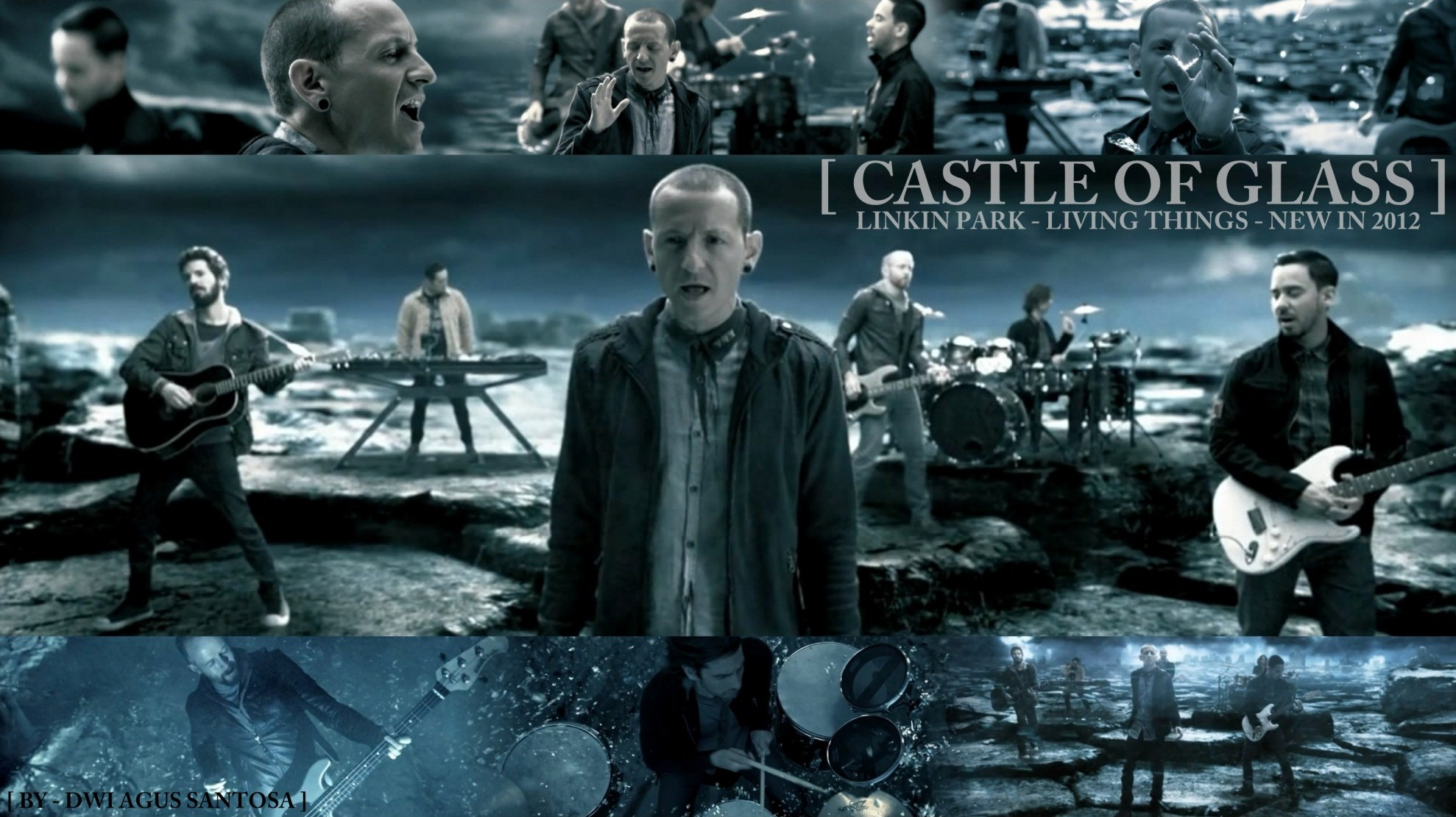 Linkin park castle of glass (featured in medal of honor.