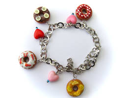 Donut Bracelet by PumpkinDream