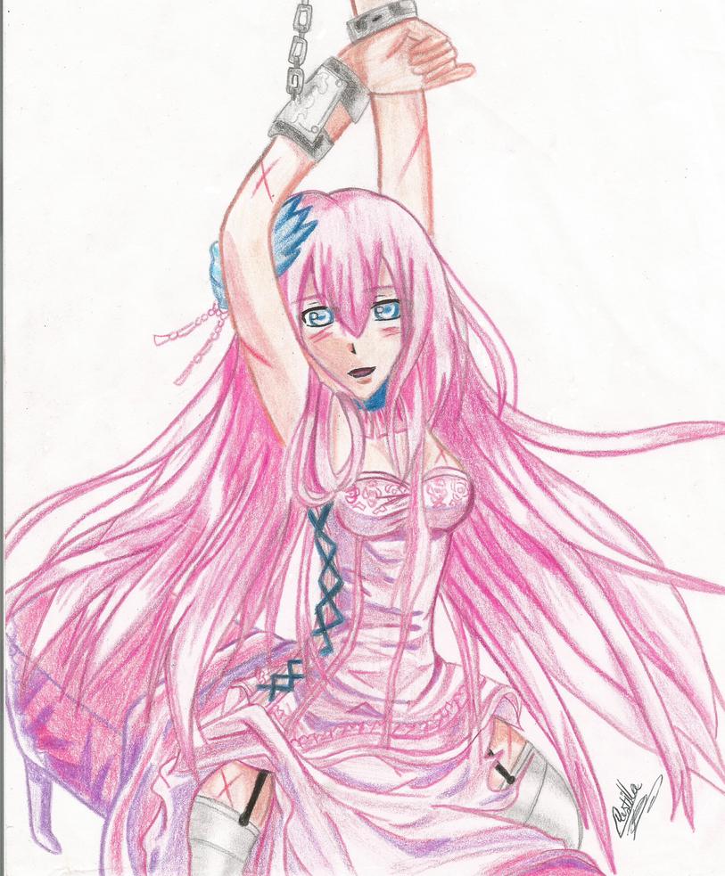 Luka megurine fake or fate by ladycastilla on deviantart - Manga femme chat ...