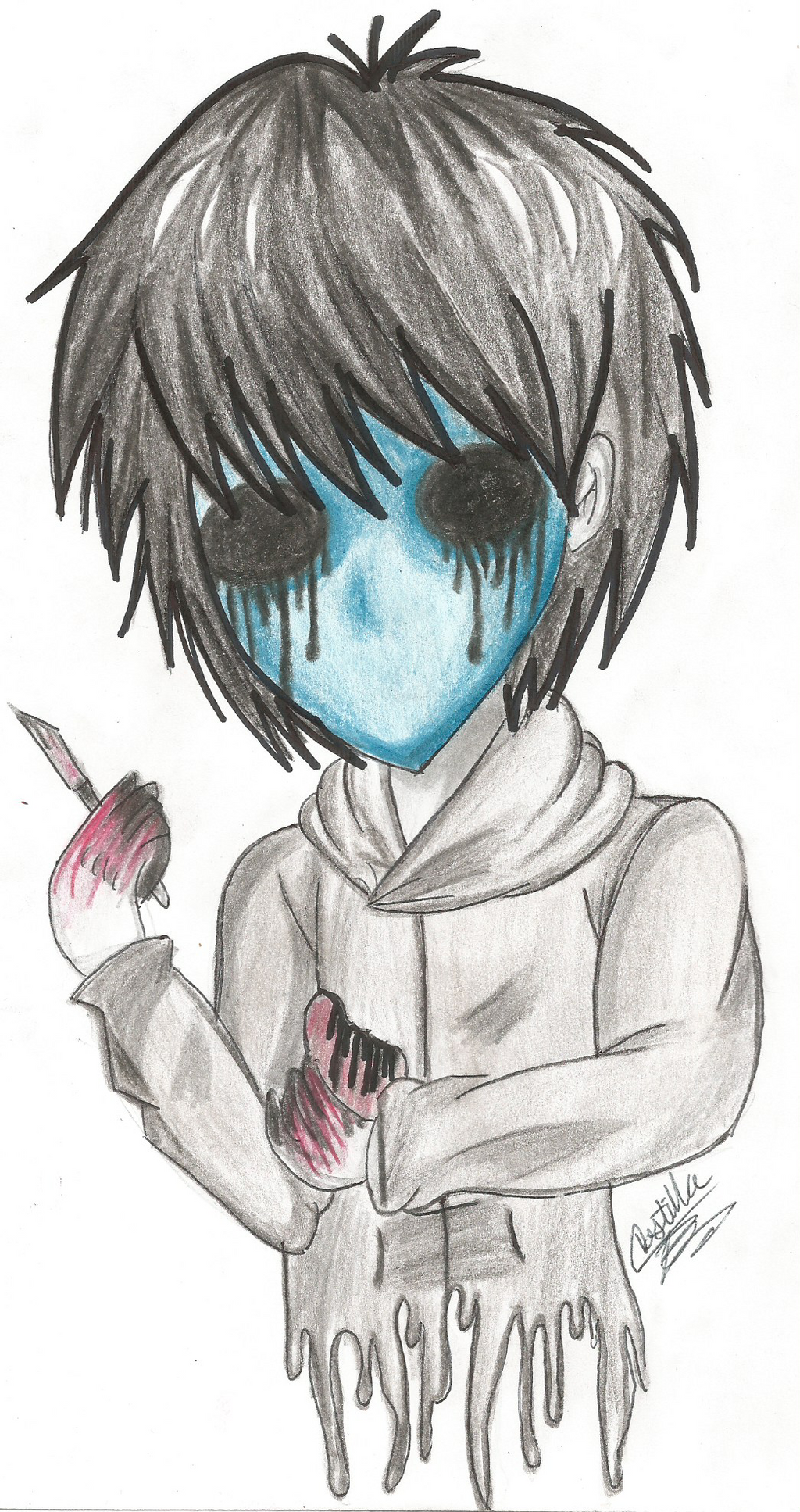 Eyeless Jack by ladycastilla