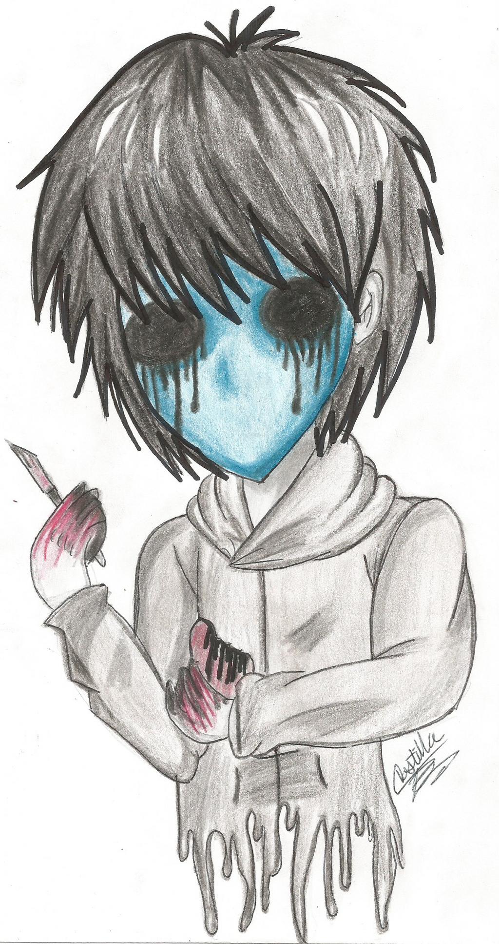 Eyeless Jack by ladycastilla