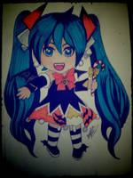 vocaloid miku hatsune halloween 2014 by ladycastilla