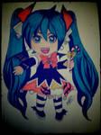 vocaloid miku hatsune halloween 2014