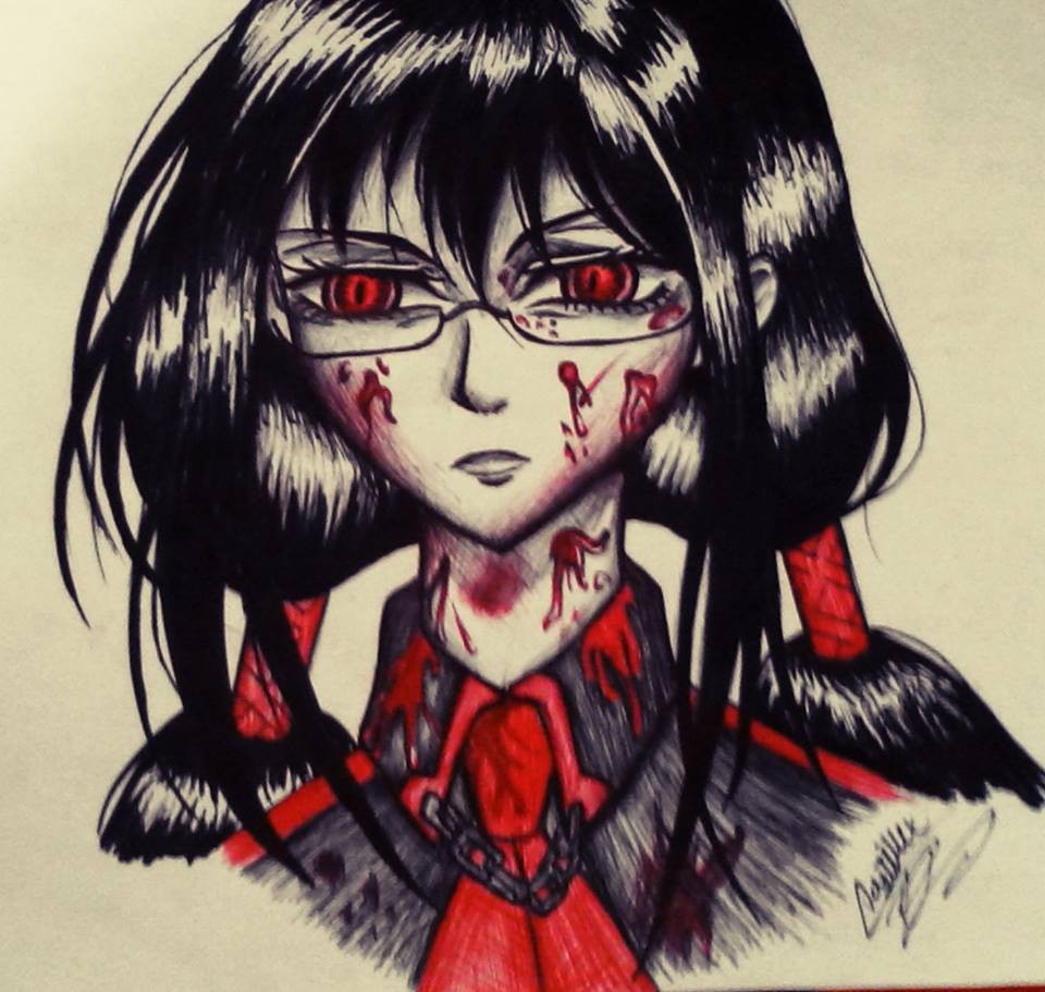 Blood C Saya By Ladycastilla On DeviantArt