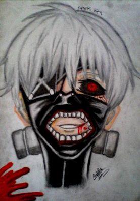 tokyo ghoul kaneki ken by ladycastilla on DeviantArt
