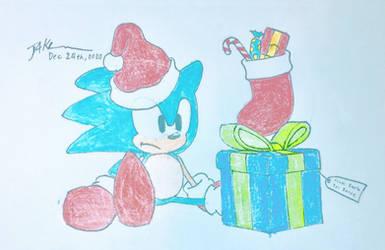 A Christmas present gift