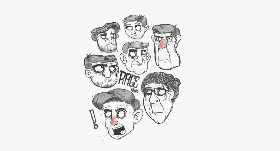Character Design Style Test By Ryan Waddon On Deviantart