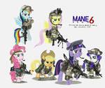 Mane Team Six