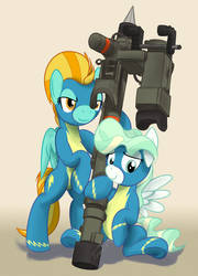 [Commission] Wonderbolts Air Defense Division by buckweiser