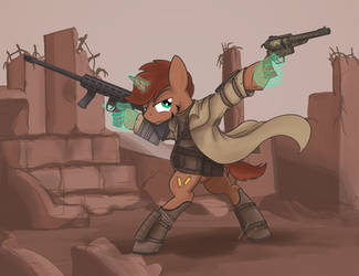 [Commission] High Caliber Weaponry by buckweiser