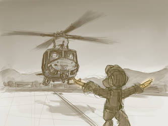 [Sketch] Landing Zone by buckweiser