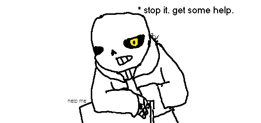 sans and grillby's care about children by xIntergalactic-Ender