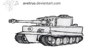 Panzerkampfwagen VI Tiger Ausf. H1 (E)