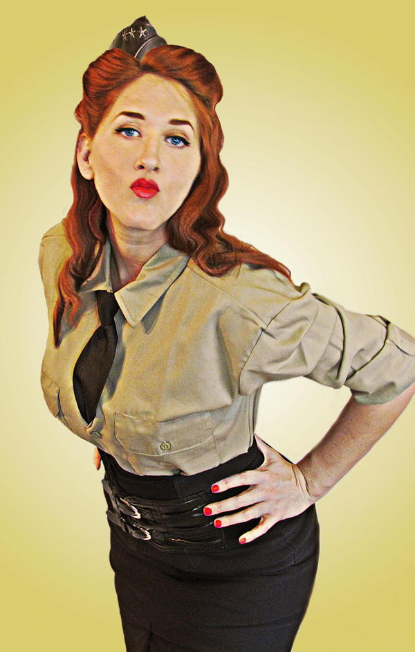 Military pin up by courtenei on deviantart - Photo pin up ...