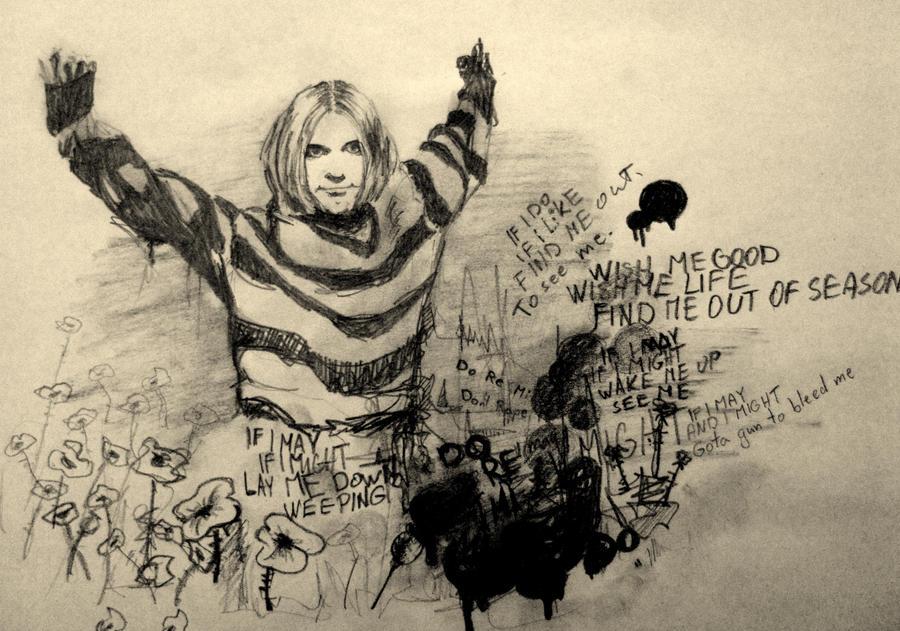 Kurt Cobain by Indene
