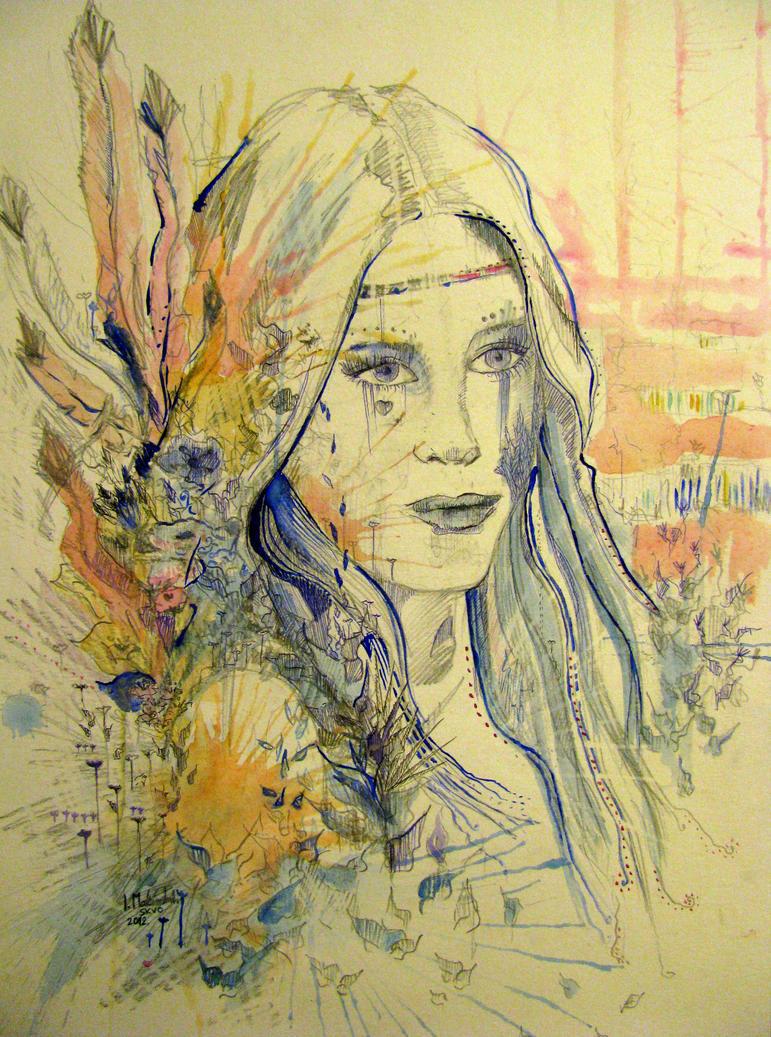 Hippie girl.. by Indene on DeviantArt
