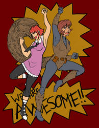 Go Team Awesome by AsmodeusSnare