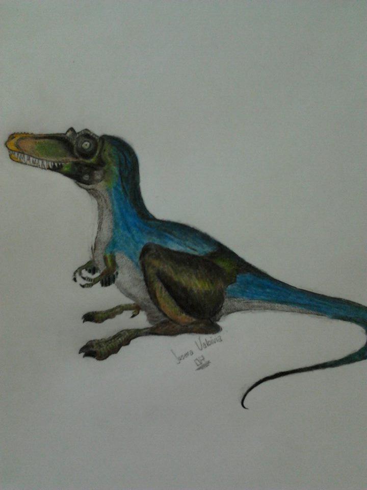 Qianzhousaurus sinensis by JosefaValdiviaT-Rex