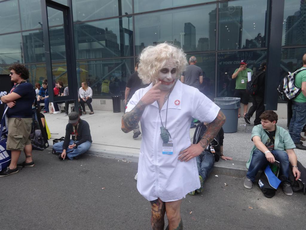 Heath Ledger's Nurse Joker by Artemis1987