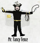 Kritzelkrieger Mr. Fancy Fence by Individumm