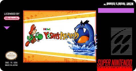 Super Mario World 2   Yoshi S Island Custom Label
