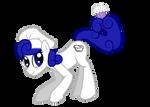 Pony OC: A bowl of crazy by Pawpr1nt