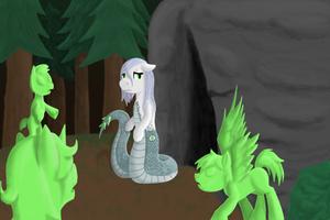 Pony OC Medeia by Pawpr1nt
