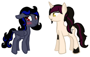 Gaia Commission Starstruck and Rigel 2 by Pawpr1nt
