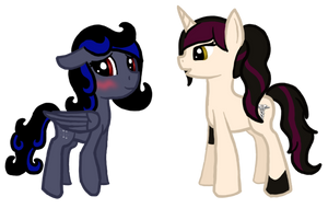 Gaia Commission Starstruck and Rigel 2 (edit) by Pawpr1nt