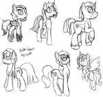 Pony sketches 1