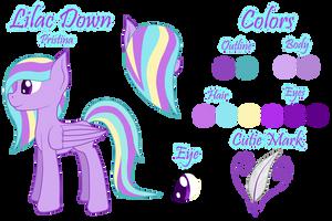 Lilac Down by Pawpr1nt