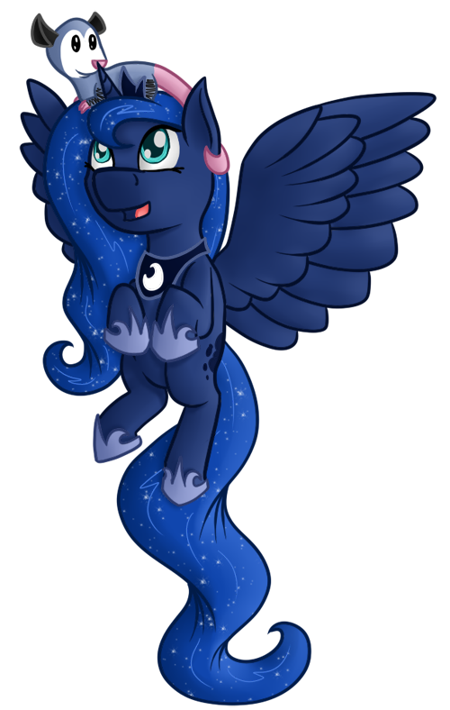 Chibi Luna and Tibbles by Pawpr1nt