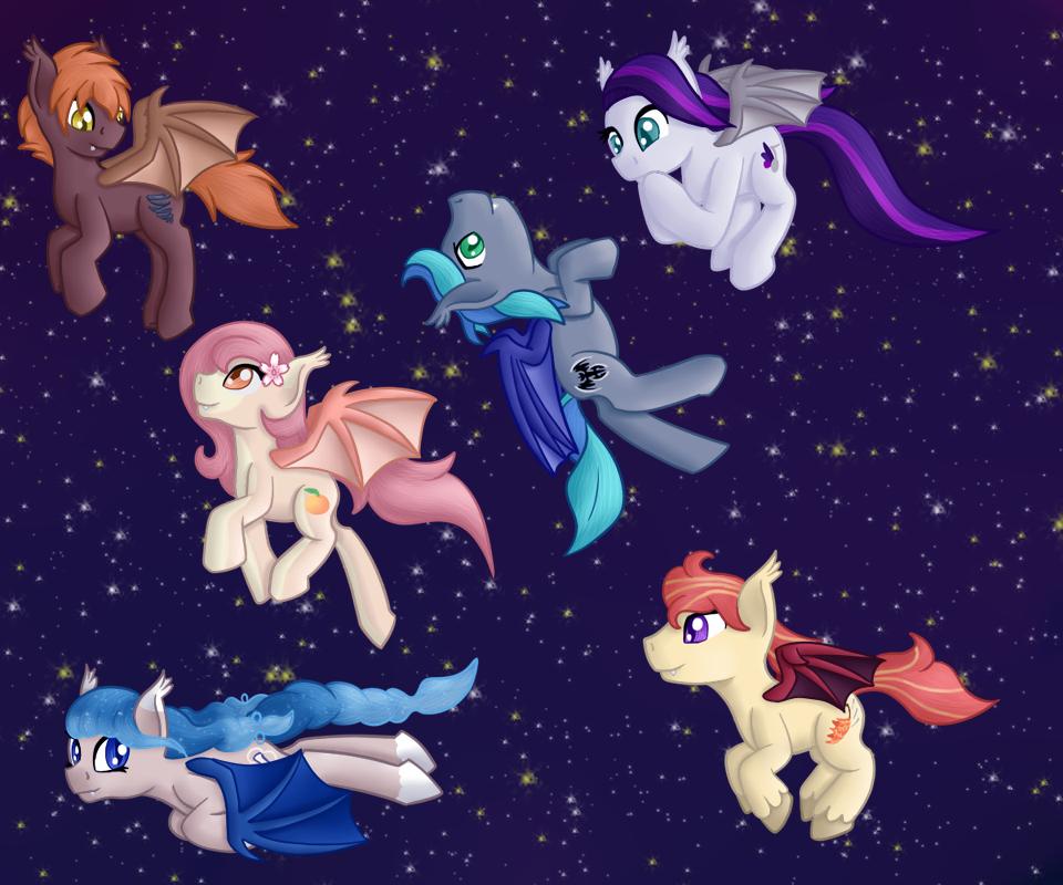 A Nighttime Flight by Pawpr1nt