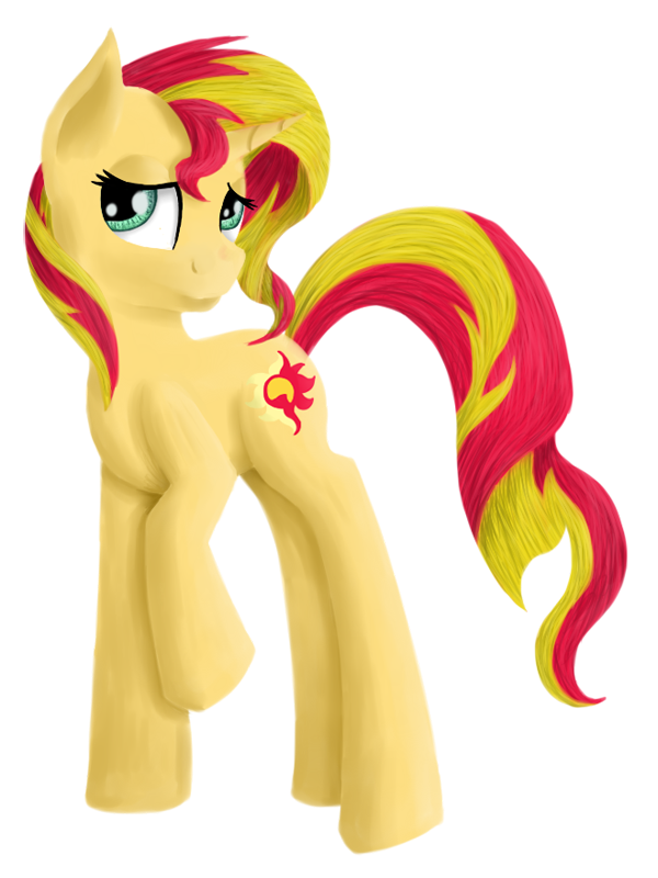 Sunset Shimmer by Pawpr1nt