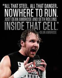 Dean Ambrose (Raw 10/21/2014) by AviseLaLina