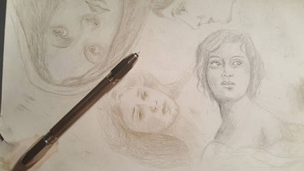silverpoint draw by sandrof10